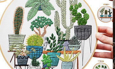 Home Accessories : Cool Embroidery by Sarah K. Benning
