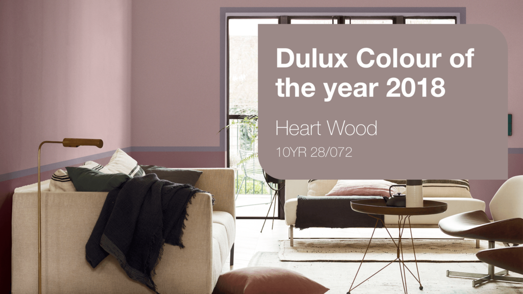 Dulux's Colour of the Year 2018 is Heart Wood