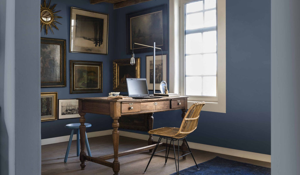 Dulux's Colour of the Year for 2017 is Denim Drift