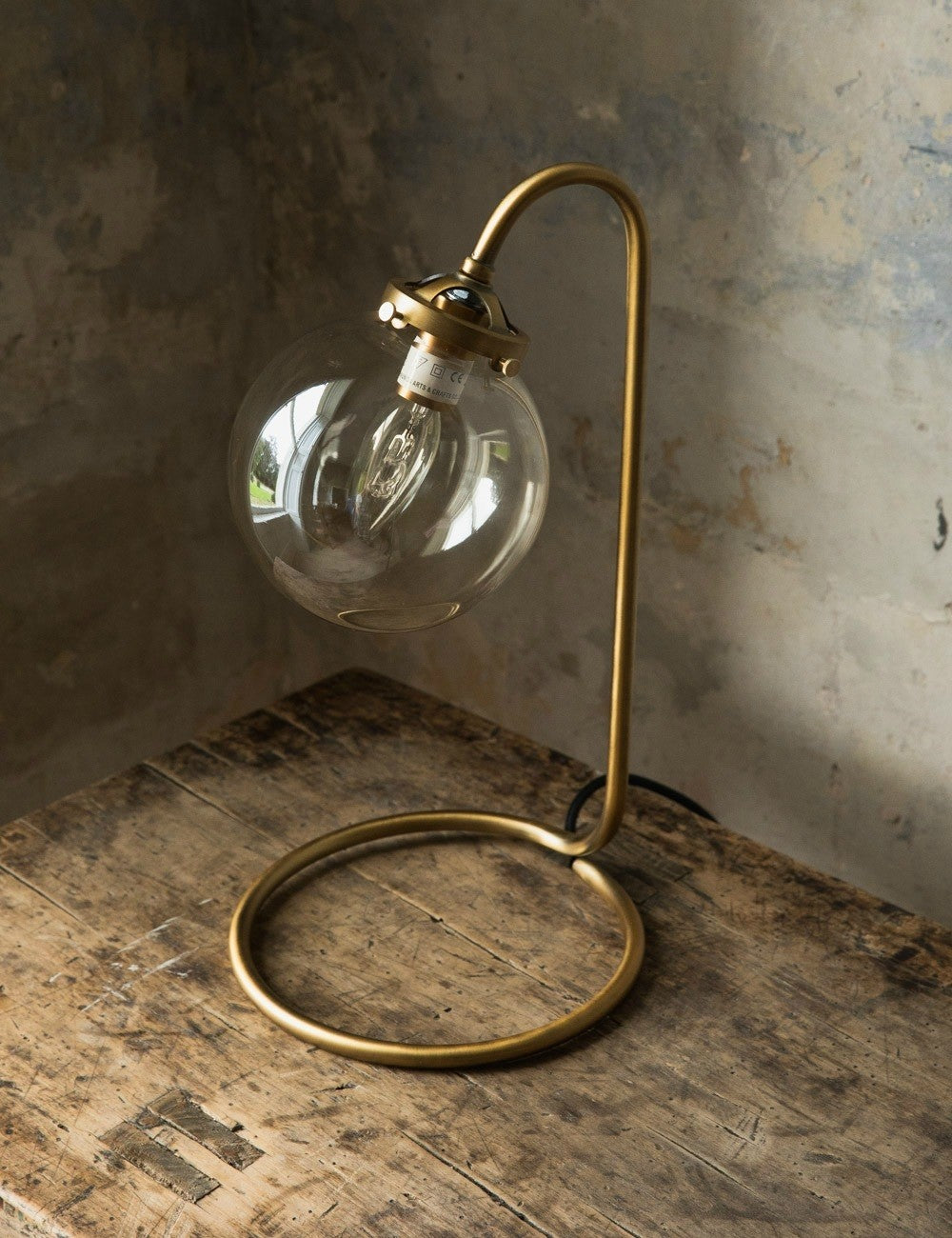 The Brindisi Globe Table Lamp by Rose & Grey