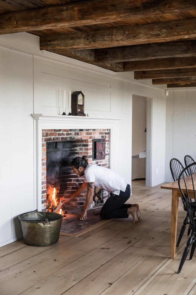 A Rustic Period Property in Maine by Anthony Esteves