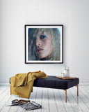 """Rock Star 001"" Framed, 58x58 cm - Fawn. Interior Design Studio."