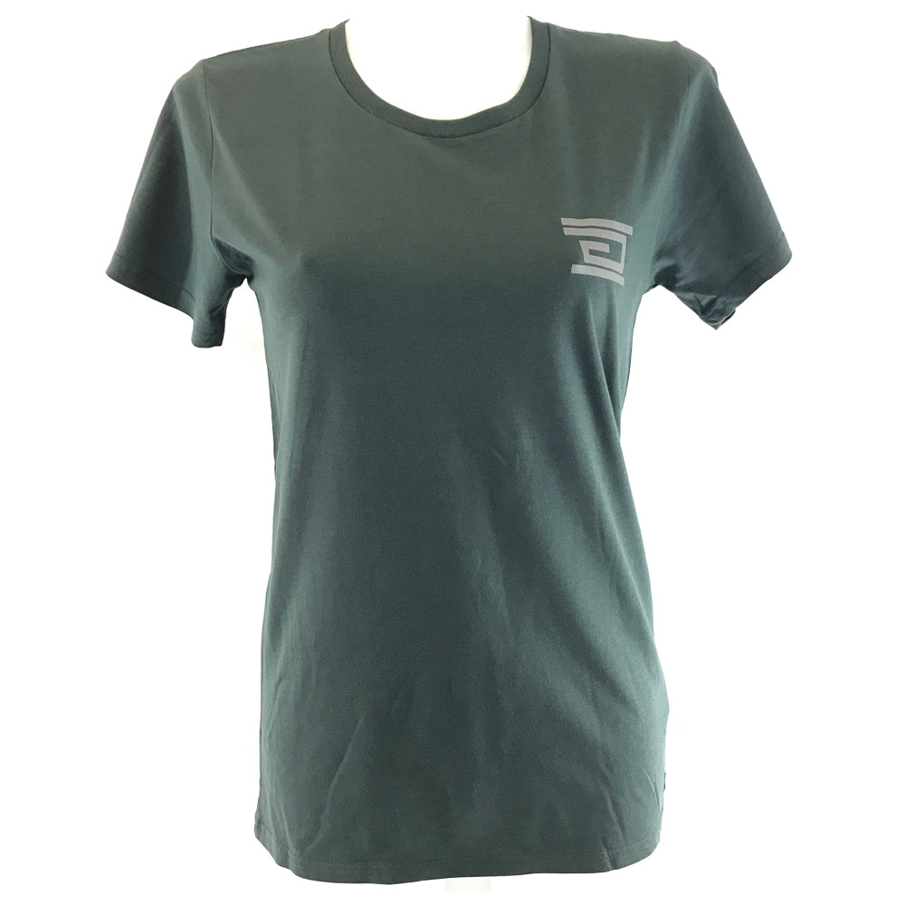Ladies Fit - Breast Print (Olive)