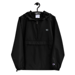 Drumcode Champion Packable Jacket (Black / Navy)