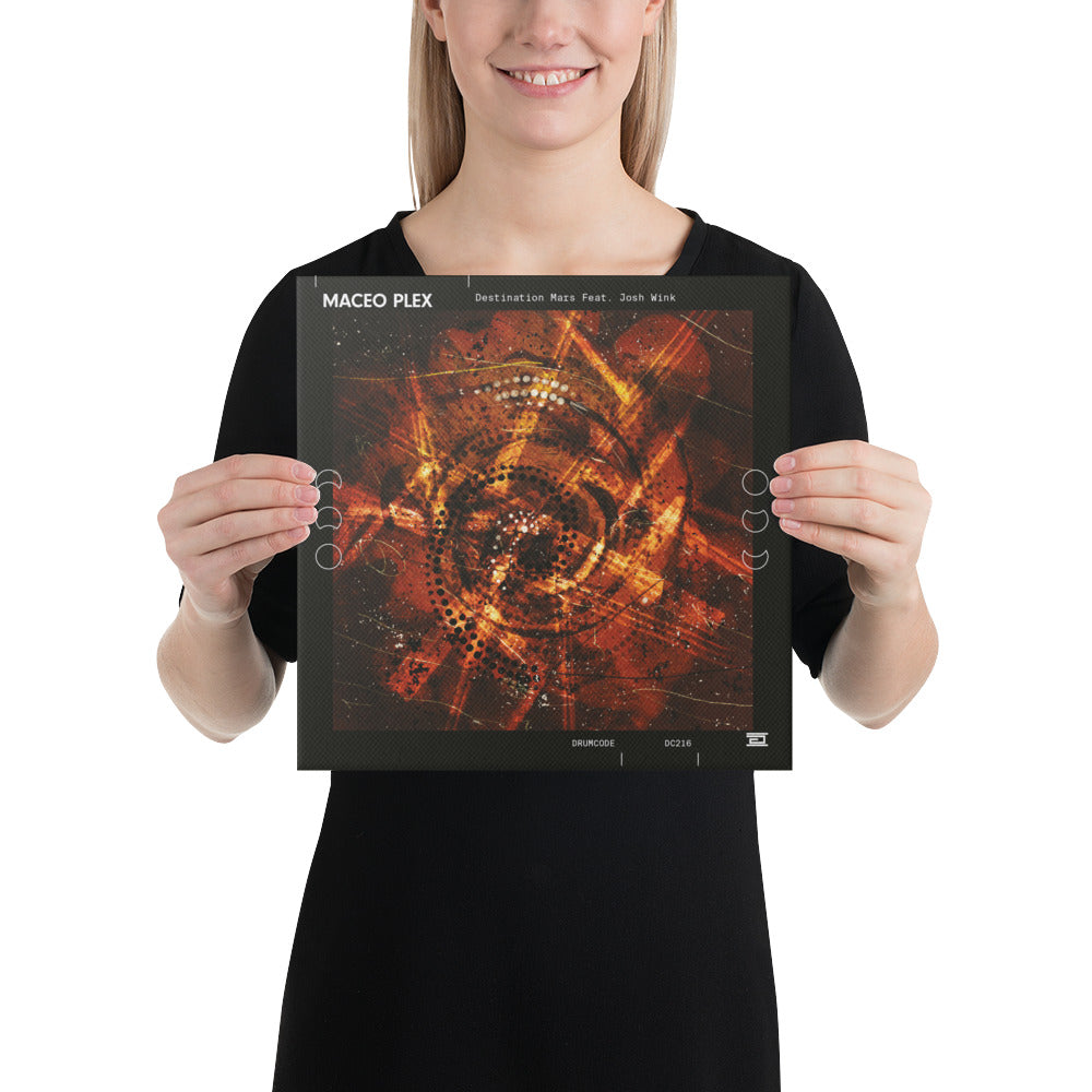 12 x 12 Canvas - Destination Mars