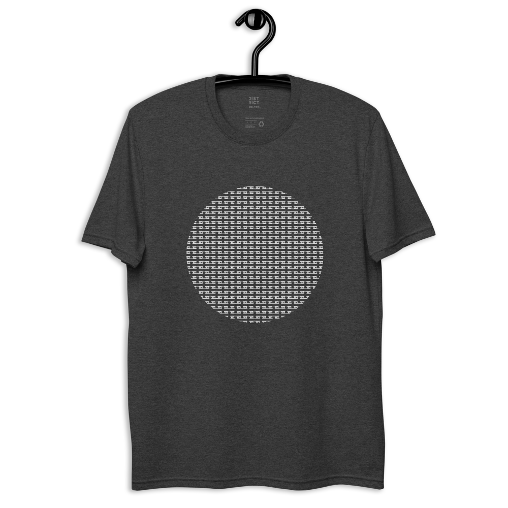 Unisex Recycled Drumcode Circle t-shirt