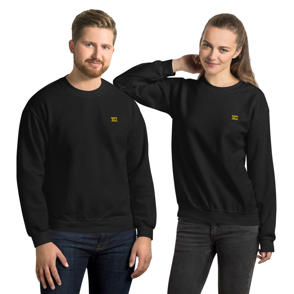 Discreet Embroidered Unisex Sweatshirt