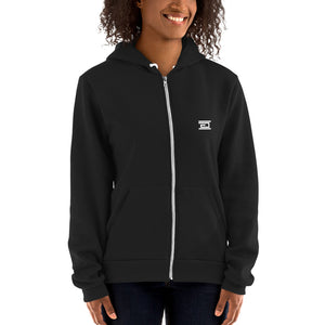 American Apparel - Premium Unisex Zip Up Hoodie