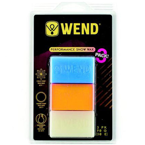 Wend Performance Snow Wax (3 Pack)