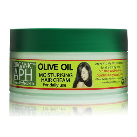 Always Perfect Hair | APH | Olive Oil Moisturising Hair Cream Conditioner 200ml - Beauty Hair Direct
