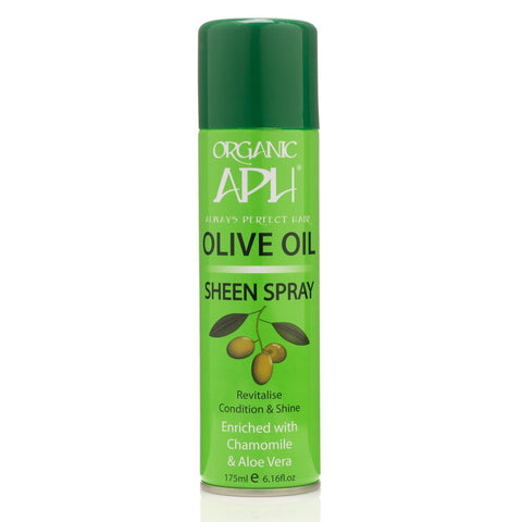 Always Perfect Hair | APH | Olive Oil | Sheen Spray 175ml - Beauty Hair Direct
