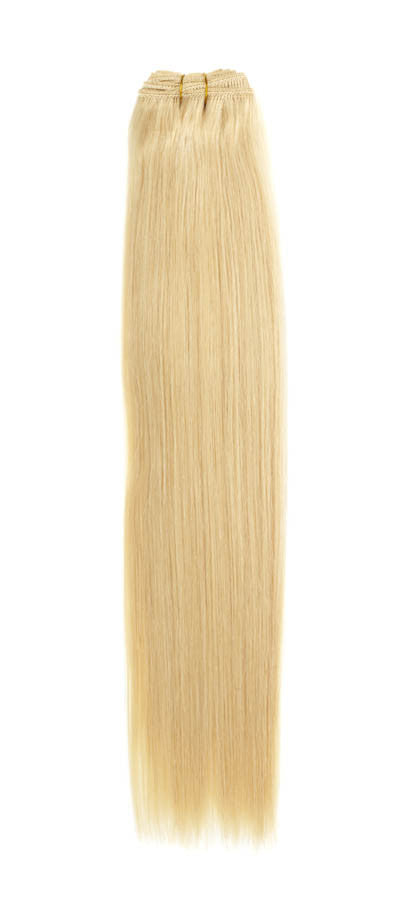"American Pride Euro Weave Human Hair Extensions 22"" Real Blonde	(22) - Beauty Hair Direct"