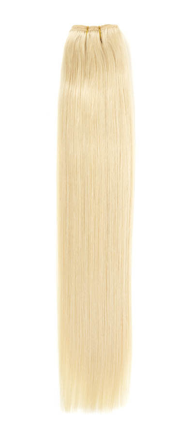 "American Pride Euro Weave Human Hair Extensions 18"" Starlight Blonde (613) - Beauty Hair Direct"
