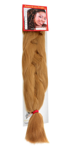 American Pride Synthetic Super Jumbo Braid Hair Extensions Blonde Dream (27) - Beauty Hair Direct