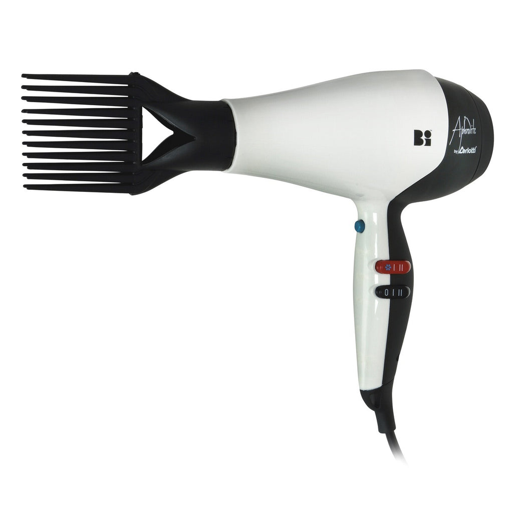 Aphrodite Bi Professional Hair Dryer 2200/2500W White & Black - Beauty Hair Direct - 1