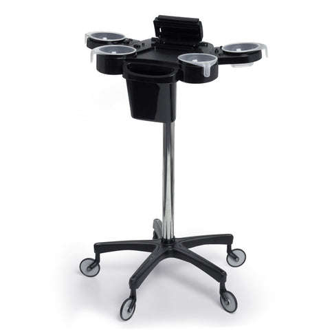 Aphrodite Professional Colour Station Trolley Salon Equipment Black - Beauty Hair Direct