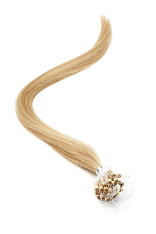 "American Pride Micro Ring Hair Extensions 18"" Blondest Bronze/Blonde (22-27) - Beauty Hair Direct"