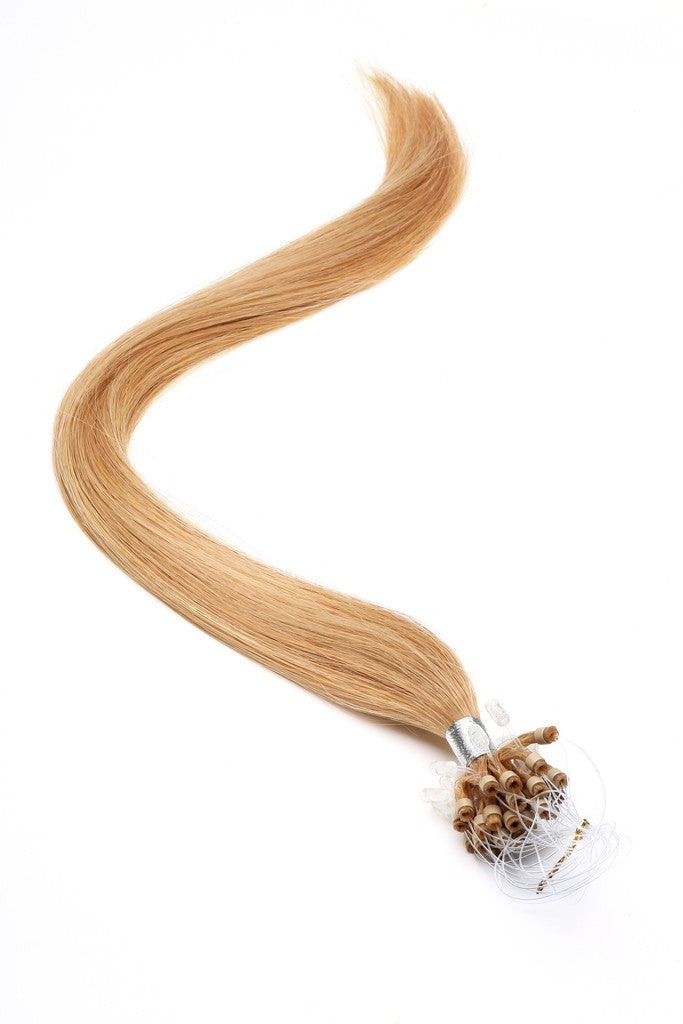 "American Pride Micro Ring Hair Extensions 18"" Bronze Blonde (27s) - Beauty Hair Direct"