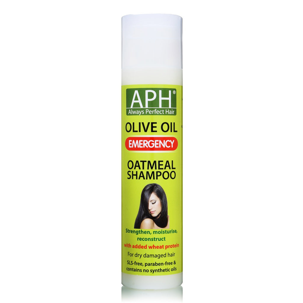 Always Perfect Hair | APH | Oatmeal Shampoo with Olive Oil 250ml - Beauty Hair Direct
