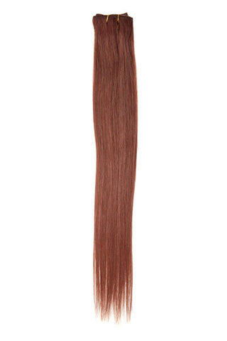 "American Pride Clip in Hair Extensions 6clips Single Weft 18"" Auburn Red	(33) - Beauty Hair Direct - 1"