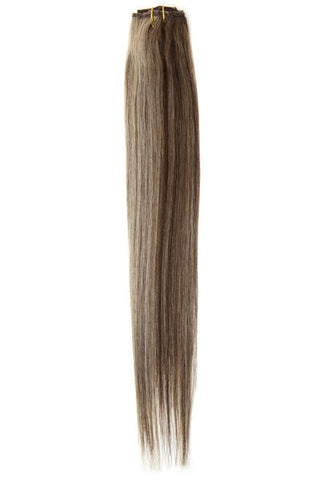 "American Pride Clip in Hair Extensions 6clips Single Weft 18"" Saturn Mix (6/4/14) - Beauty Hair Direct - 1"
