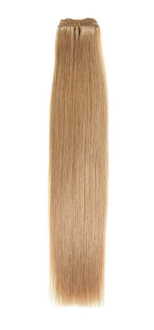 "American Pride Euro Weave Human Hair Extensions 18"" Golden Blonde (25) - Beauty Hair Direct"