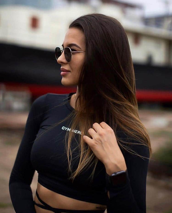 HERO GIRL BLACK TOP