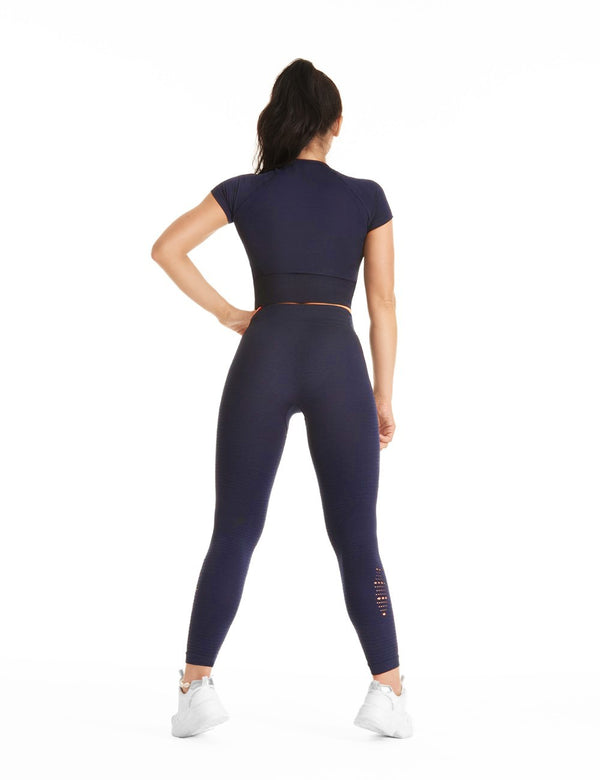 ELITE NAVY SEAMLESS LEGÍNY