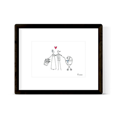 """SIMPLE & SWEET FAMILY"" ART PRINT"