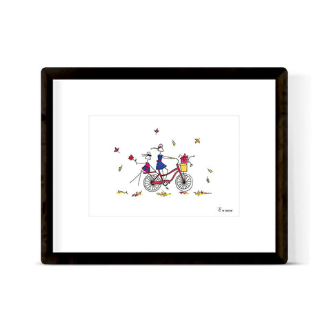 "NUTCRACKER ""FLOWER"" ART PRINT"