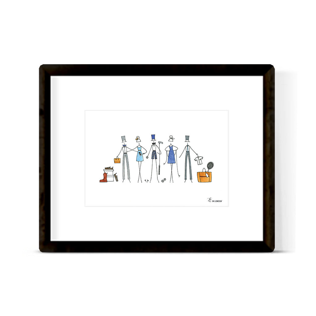 """LIFESTYLE COLLECTION"" ART PRINT"