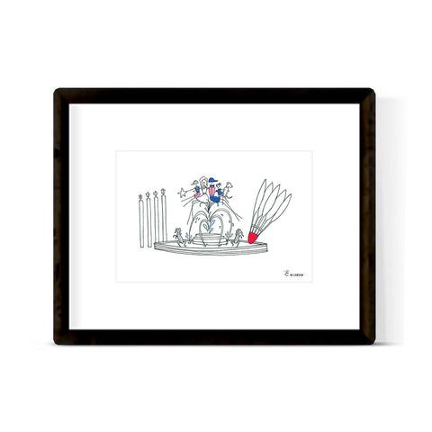 """KANSAS CITY FAMILY"" ART PRINT"