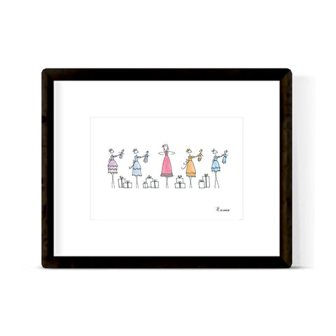 """THE NUTCRACKER: PARTY SCENE"" ART PRINT"