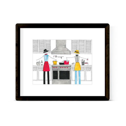 """IN THE KITCHEN: MISTER MISTER"" ART PRINT"