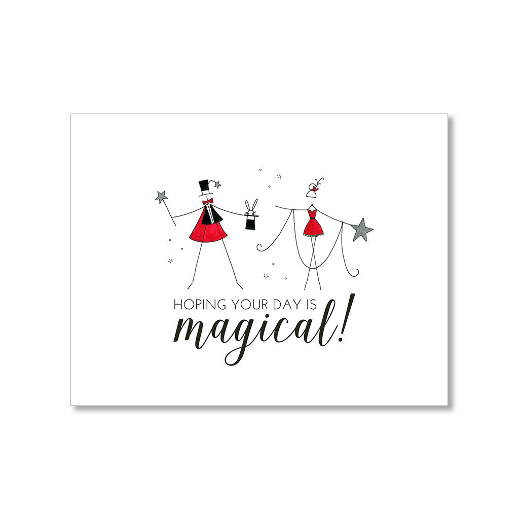 """MAGICAL"" BIRTHDAY CARD"