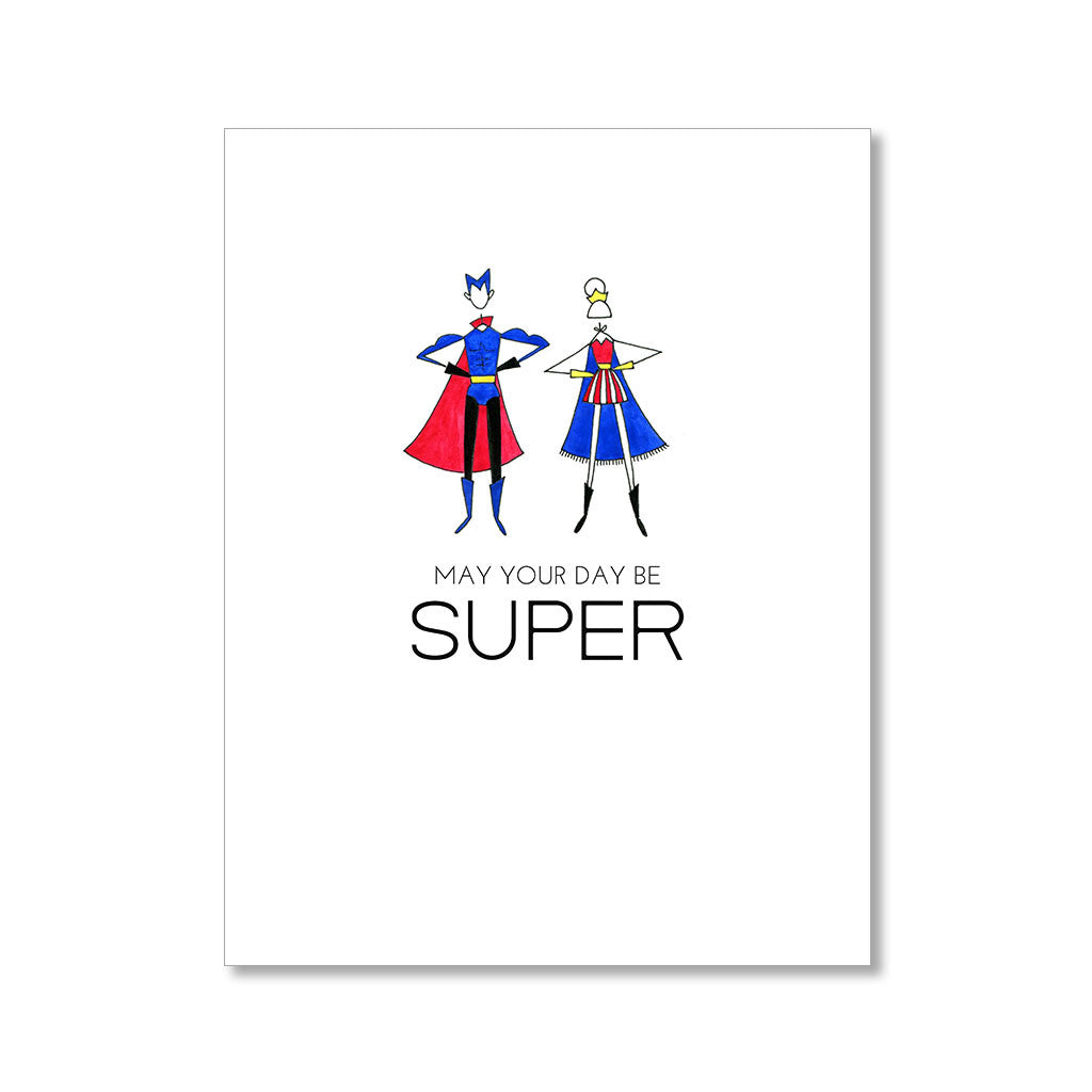 """SUPER"" BIRTHDAY CARD"