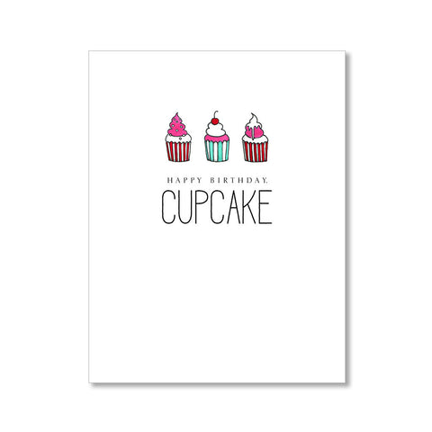 """CUPCAKE"" BIRTHDAY CARD"