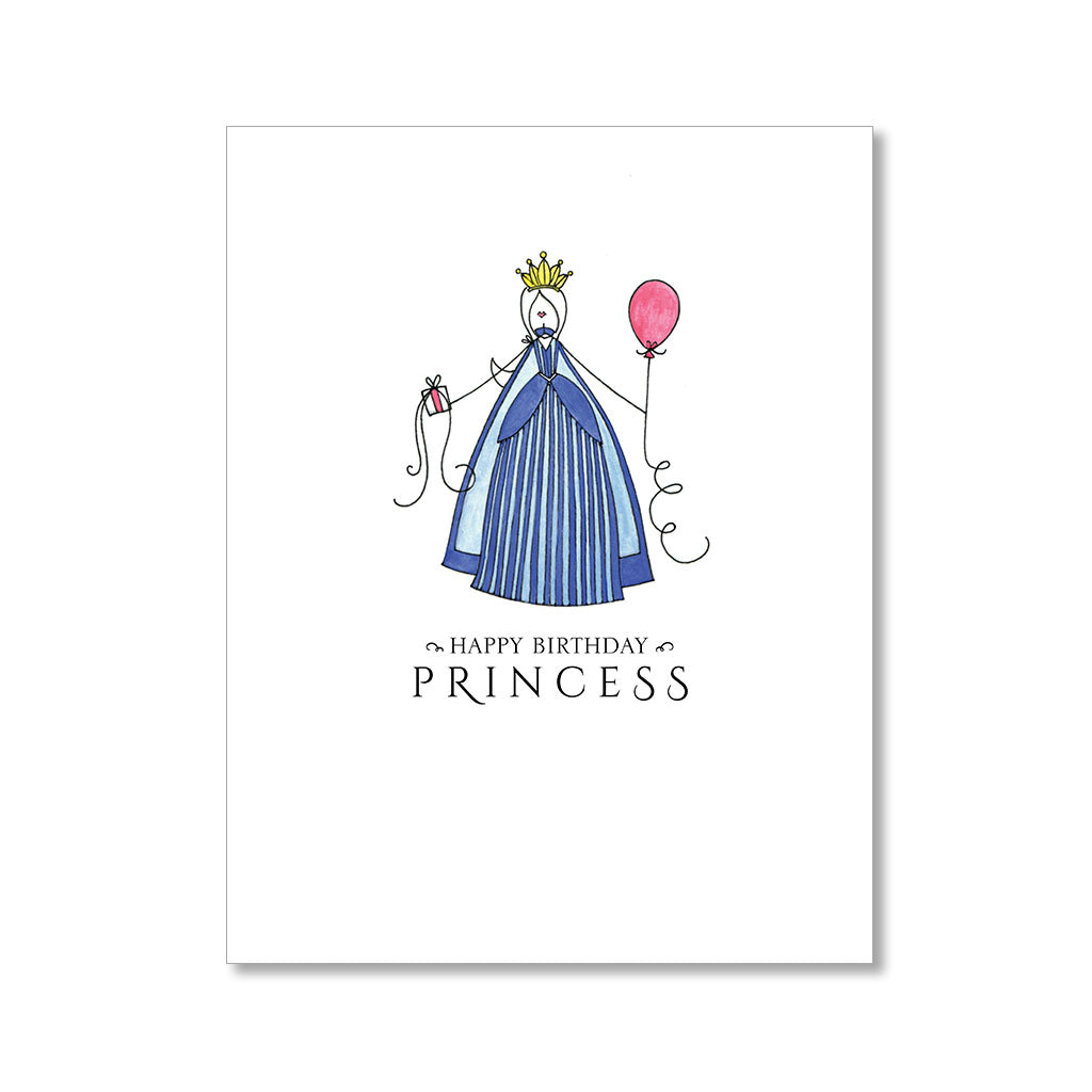 """PRINCESS"" BIRTHDAY CARD"