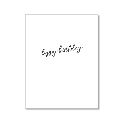"""WONDERFUL YOU"" BIRTHDAY CARD"