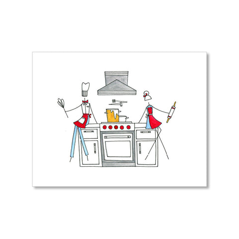 """THE CHEFS"" BLANK CARD"