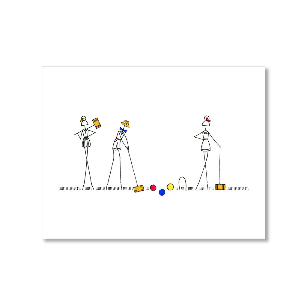 Croquet blank card loinlondon croquet blank card pooptronica Image collections