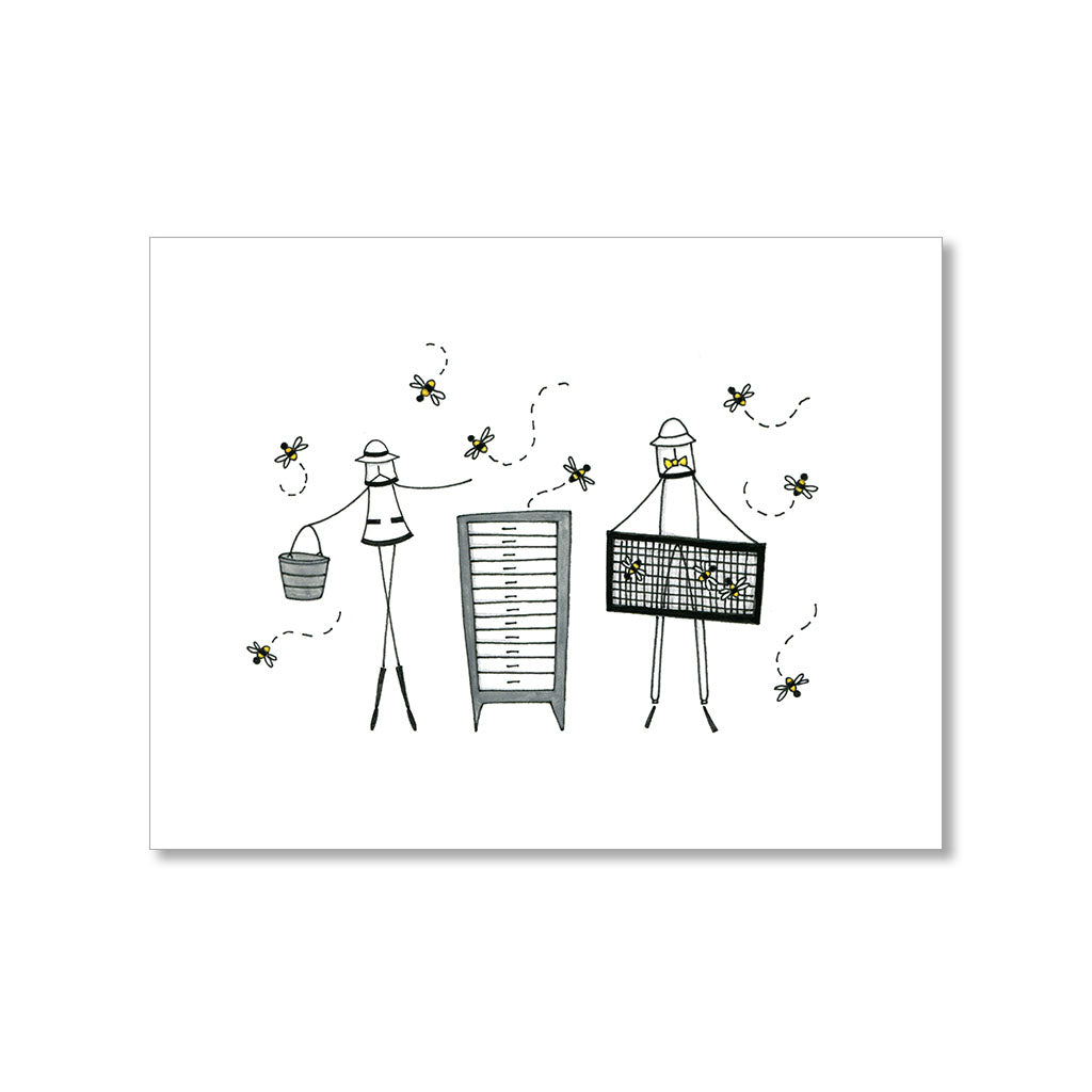 """BEEKEEPERS"" BLANK CARD"