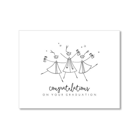 """GRADUATION"" CONGRATULATIONS CARD"
