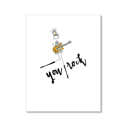 """YOU ROCK"" ENCOURAGEMENT CARD"