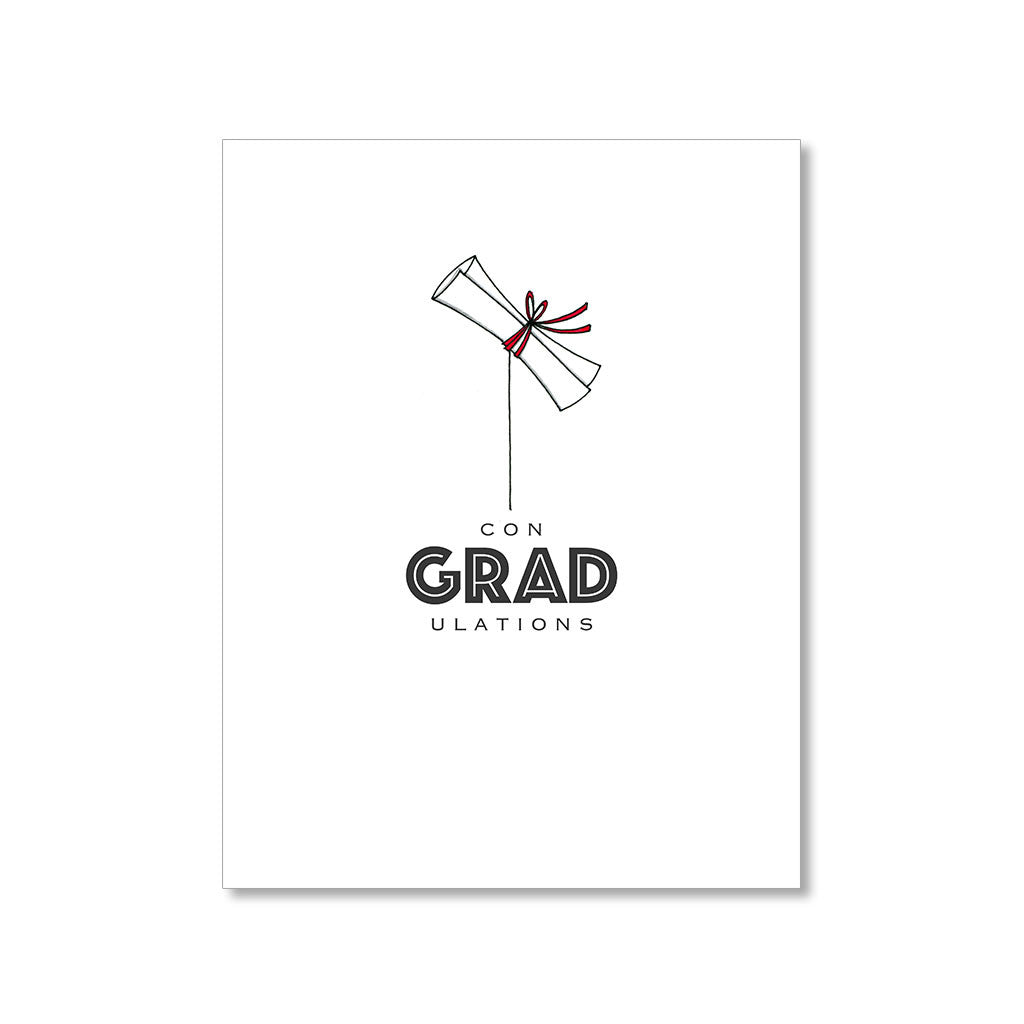 """GRAD"" CONGRATULATIONS CARD"