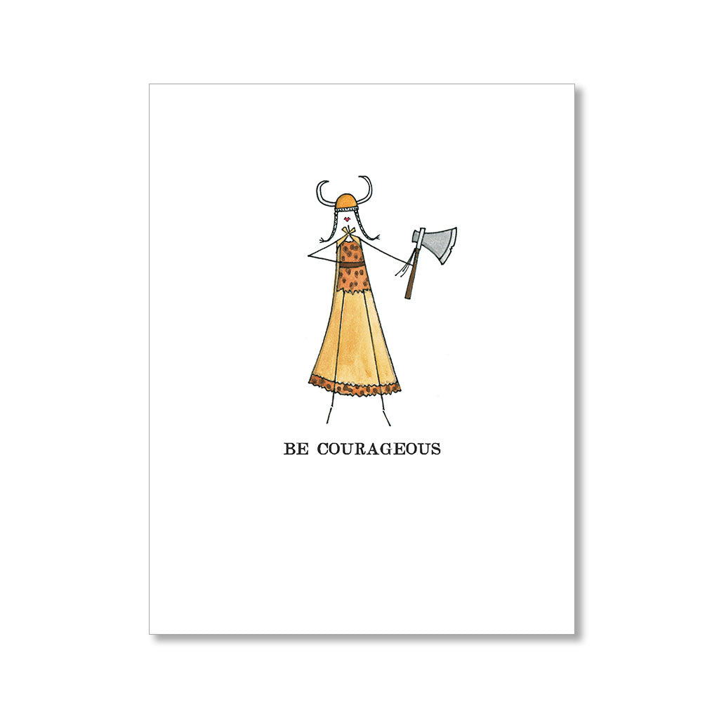 """COURAGEOUS"" ENCOURAGEMENT CARD"