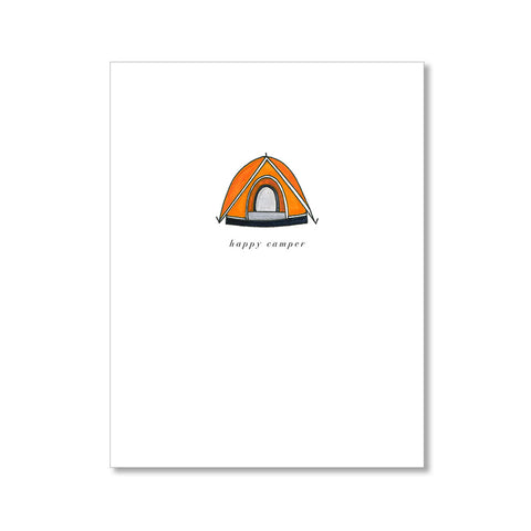 """HAPPY CAMPER"" CARD"