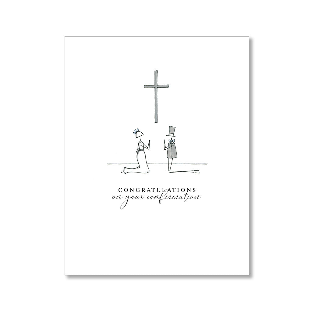 """CONFIRMATION"" CONGRATULATIONS CARD"
