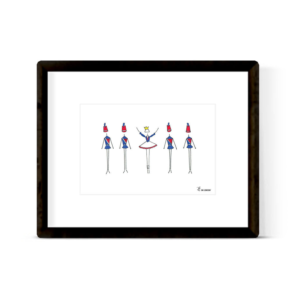 "NUTCRACKER ""SOLDIER"" ART PRINT"