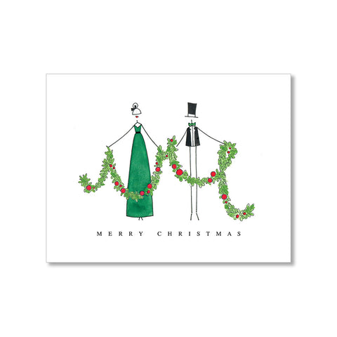 """GARLAND"" HOLIDAY CARD"